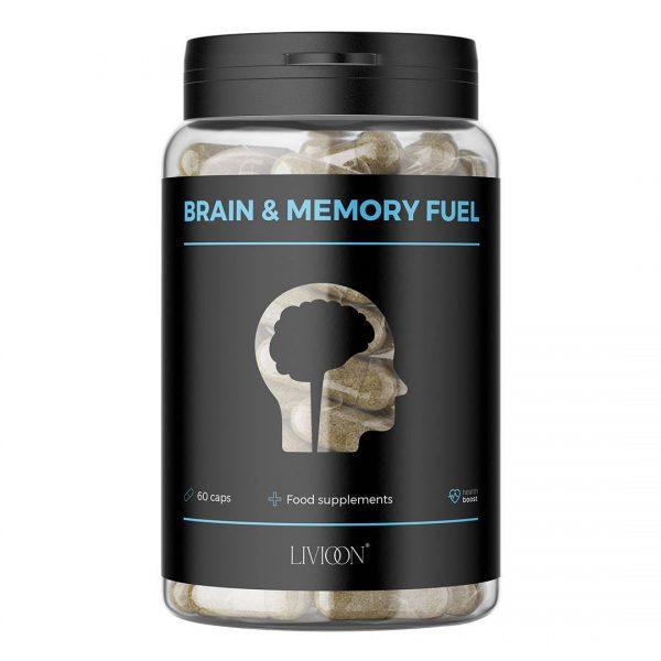 Livioon Brain memory fuel pamiec koncentracja supelement siety